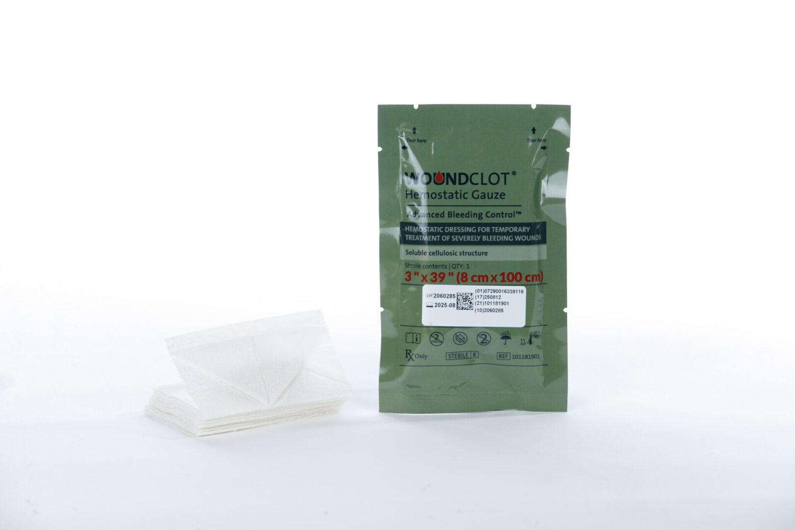 2- Foil + Gauze -PreHospital 3X39 FDA - MOLD4103
